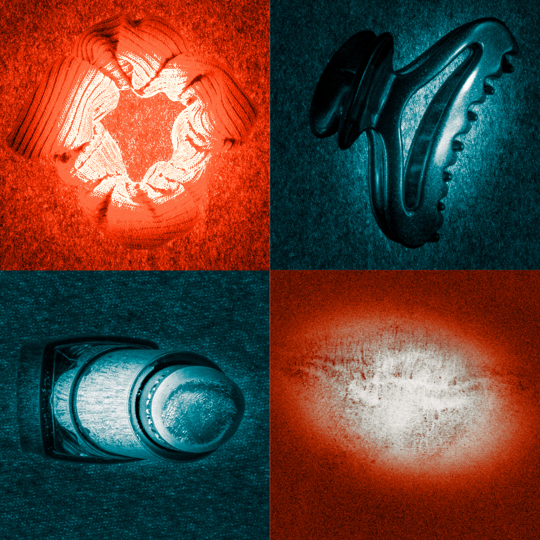 La chute 1 Le corps (Impression lenticulaire dans caisson lumineux format 100x100 cm)