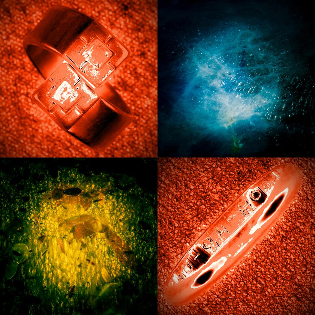 La chute 2 La parure (Impression lenticulaire dans caisson lumineux format 100x100 cm)
