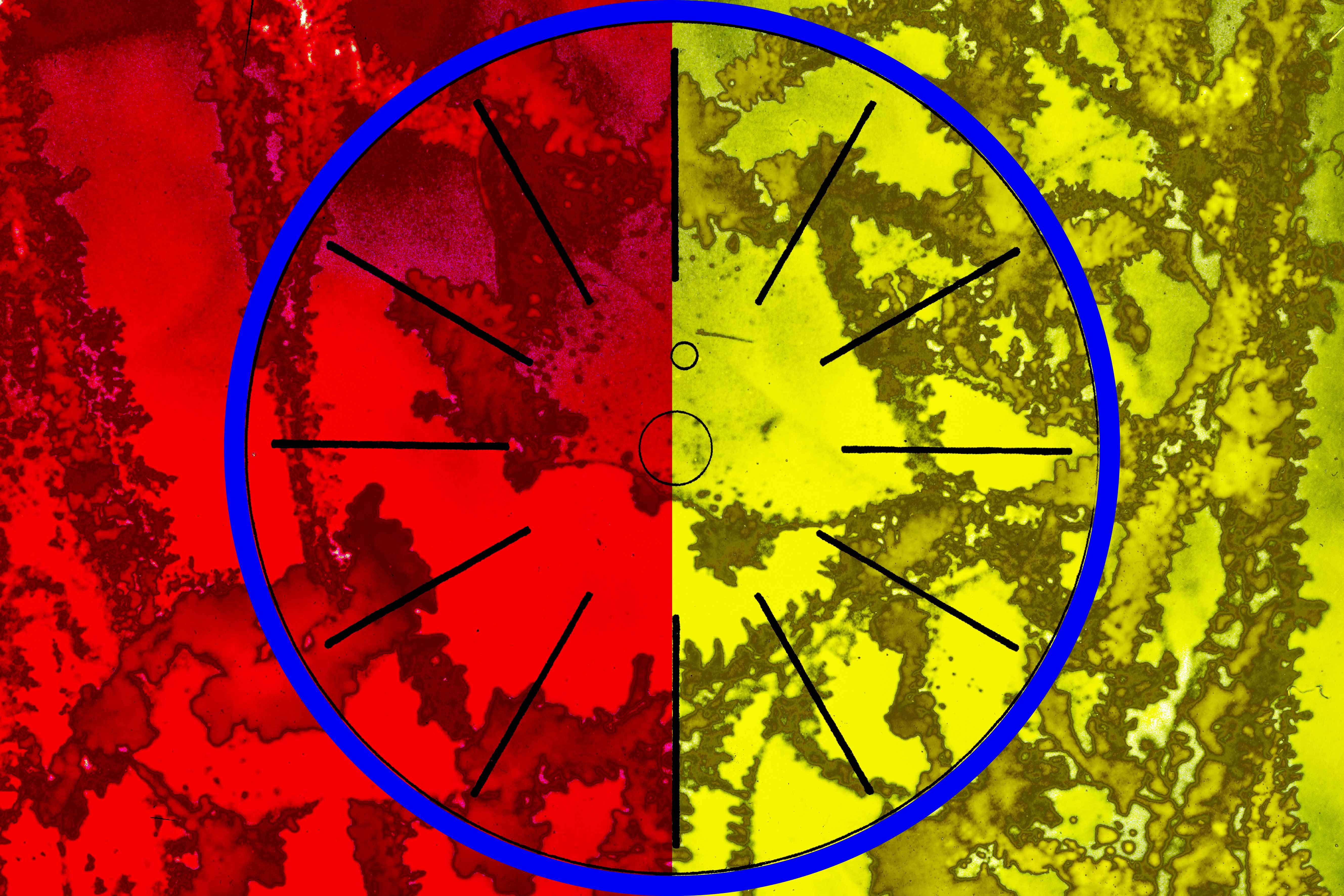 Line Segments - Blue-circle