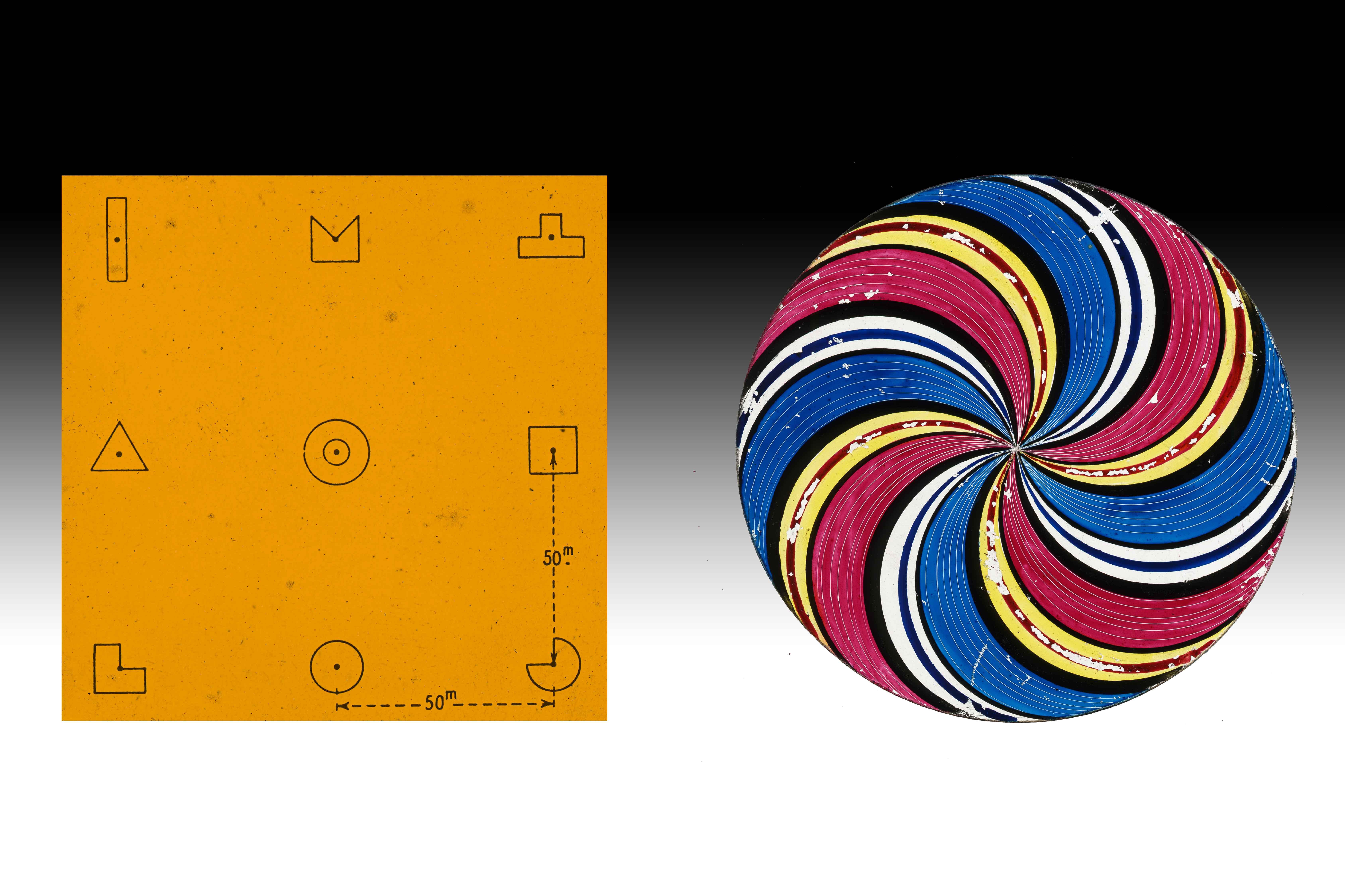 Simple Shapes -Orange square